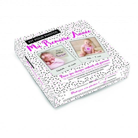 """Kit pour photos """"Ma Première Année"""" fille - Kits & décors pour photos par BB&Co"""