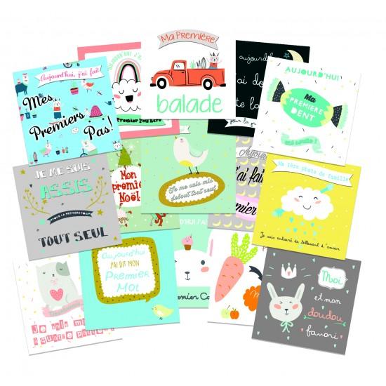 """Kit pour photos """"Ma Première Année"""" garçon - Kits & décors pour photos par BB&Co"""