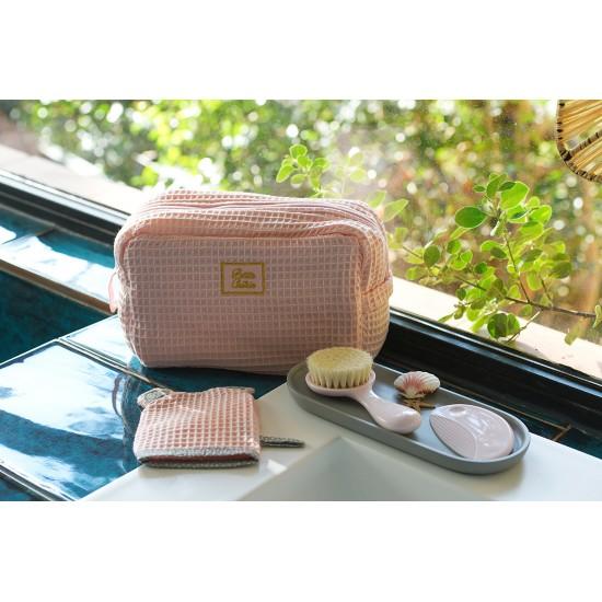 Coffret accessoires de toilette - rose - Accessoires de toilette par Minene