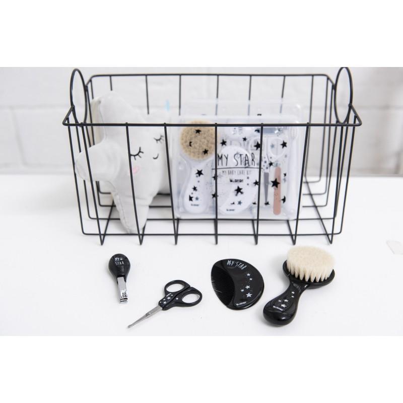 Coffret accessoires de toilette - noir - Accessoires de toilette par Minene