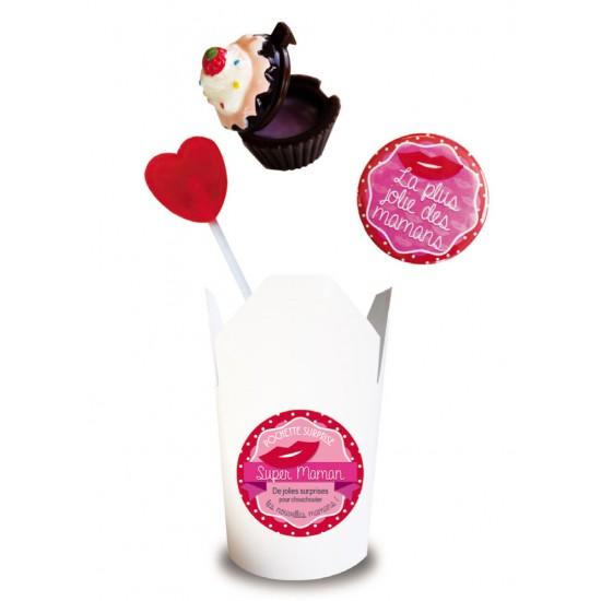 Pochette Surprise Super Maman - Cadeaux de Naissance par BB&Co