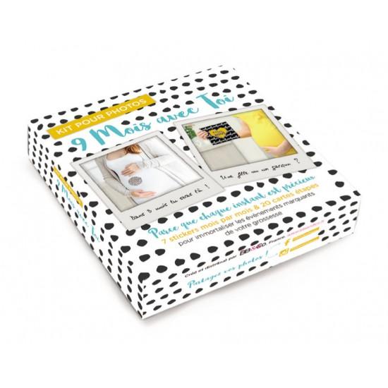 """Kit pour photos """"9 mois avec toi"""" - Kits & décors pour photos par BB&Co"""