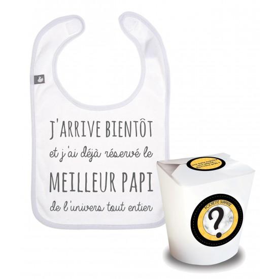 """Pochette Surprise Annonce """"le meilleur papi de l'univers"""" - Annonces Grossesse par BB&Co"""