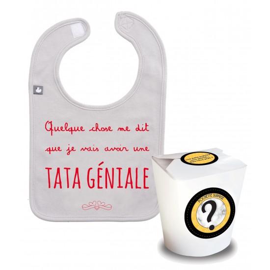"""Pochette Surprise Annonce """"une tata géniale"""" - Annonces Grossesse par BB&Co"""