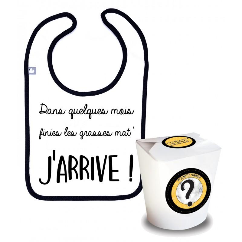 """Pochette Surprise Annonce """"J'arrive !"""" - Annonces Grossesse par BB&Co"""