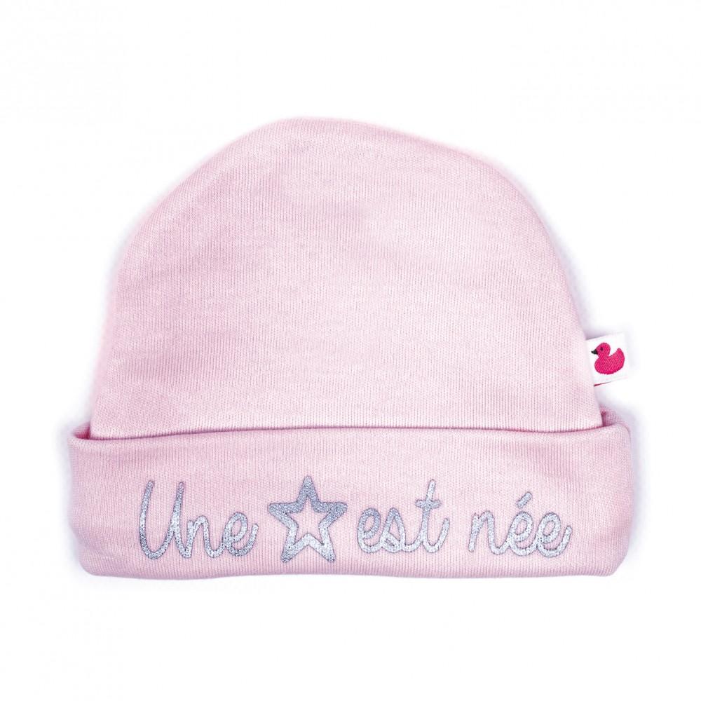 """Bonnet """"Une étoile est née"""" rose pastel - Bonnets par BB&Co"""
