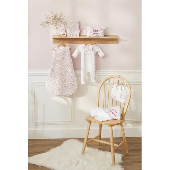 "Dors-bien velours ""Petite merveille"" Frenchy Liberty blanc/liberty - Pyjamas par BB&Co"