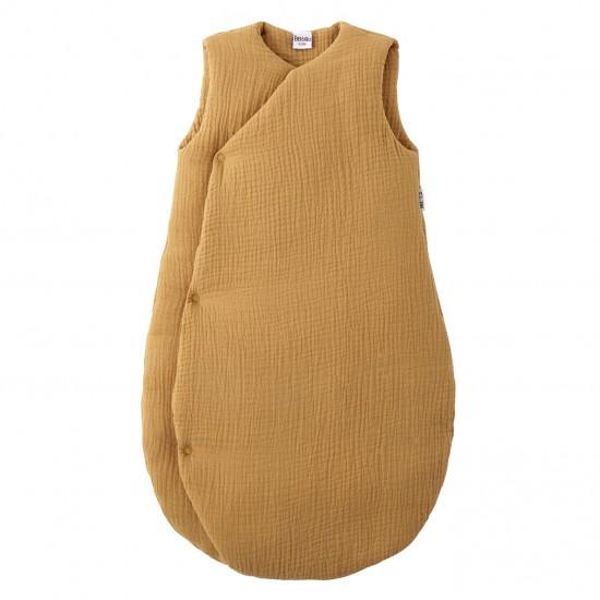 Gigoteuse forme kimono gaze de coton noisette Mix & Match - Gigoteuses par BB&Co
