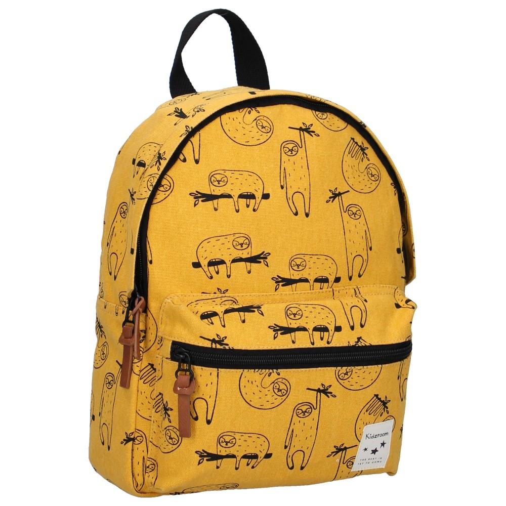 Sac à dos enfant Animal Academy - Paresseux jaune par Kidzroom - Sacs enfants par KIDZROOM