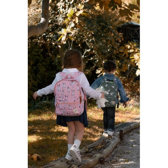 Sac à dos enfant Dress Up - Dino céladon - Sacs enfants par KIDZROOM
