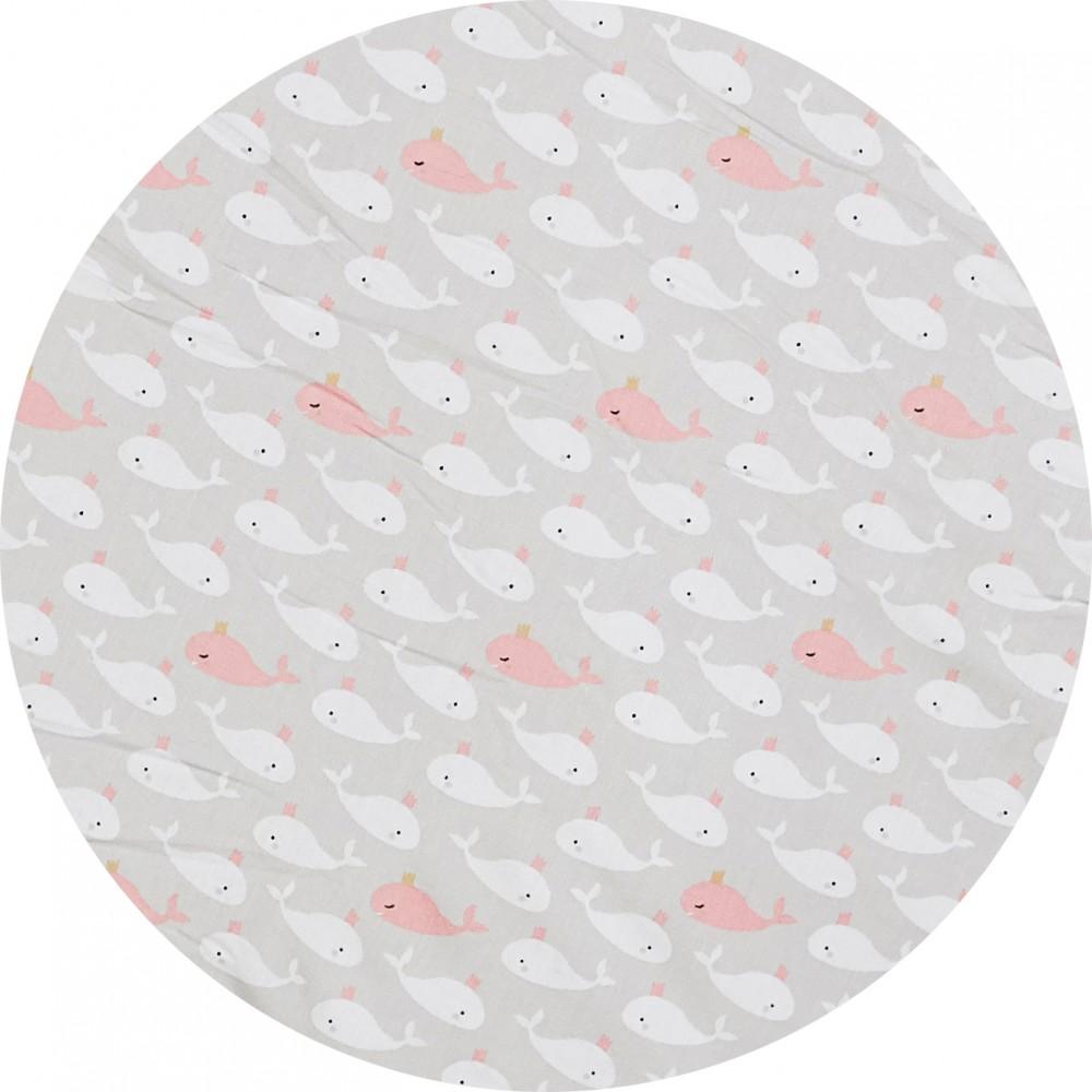 Drap housse 70 x 140 cm blush/beige/blanc - Draps et parures de lit par BB&Co