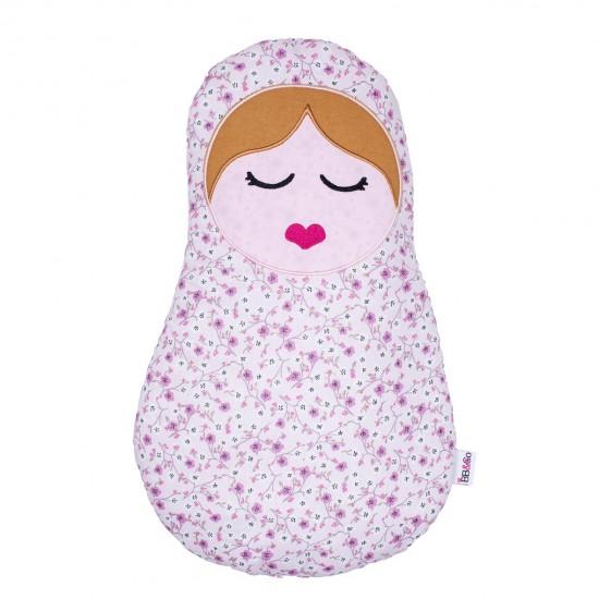 Coussin déco poupée russe Frenchy Liberty - Coussins déco par BB&Co