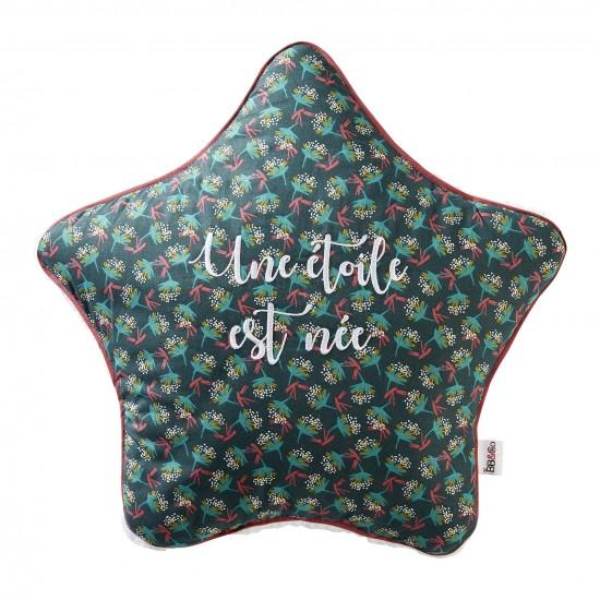 Coussin déco réversible forme étoile - Vintage Flowers - Coussins déco par BB&Co