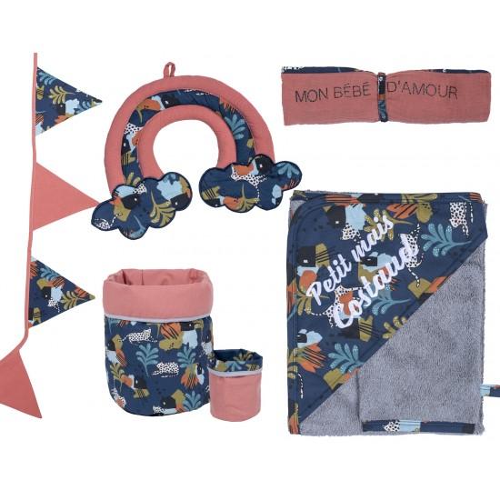 Guirlande fanions coton Little Savane - Guirlandes et décoration murale par BB&Co