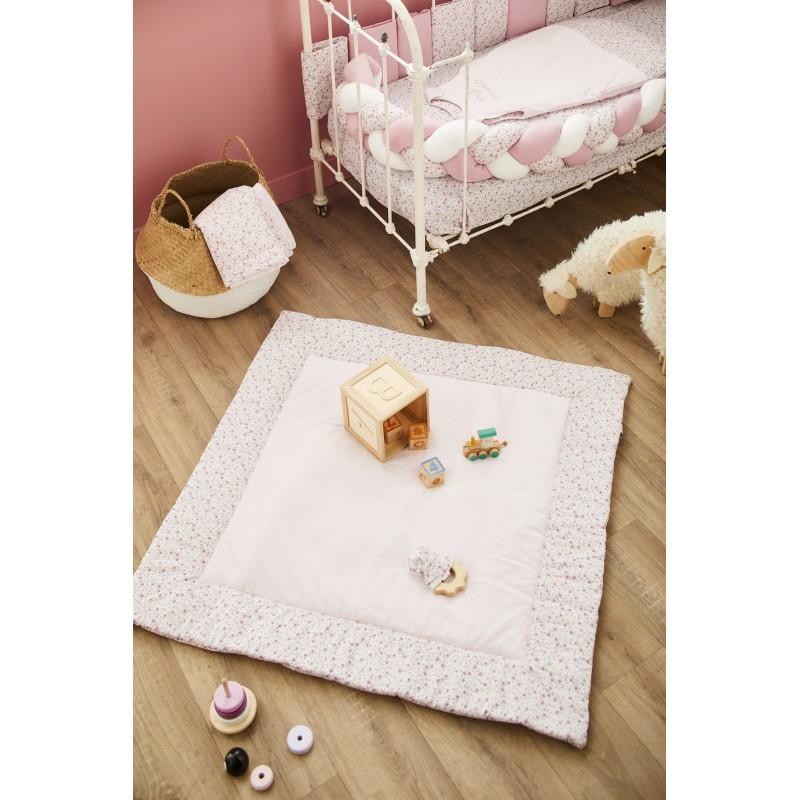 Tapis de jeu réversible/fond de parc - Frenchy Liberty - Tapis de jeu et cale-bébés par BB&Co