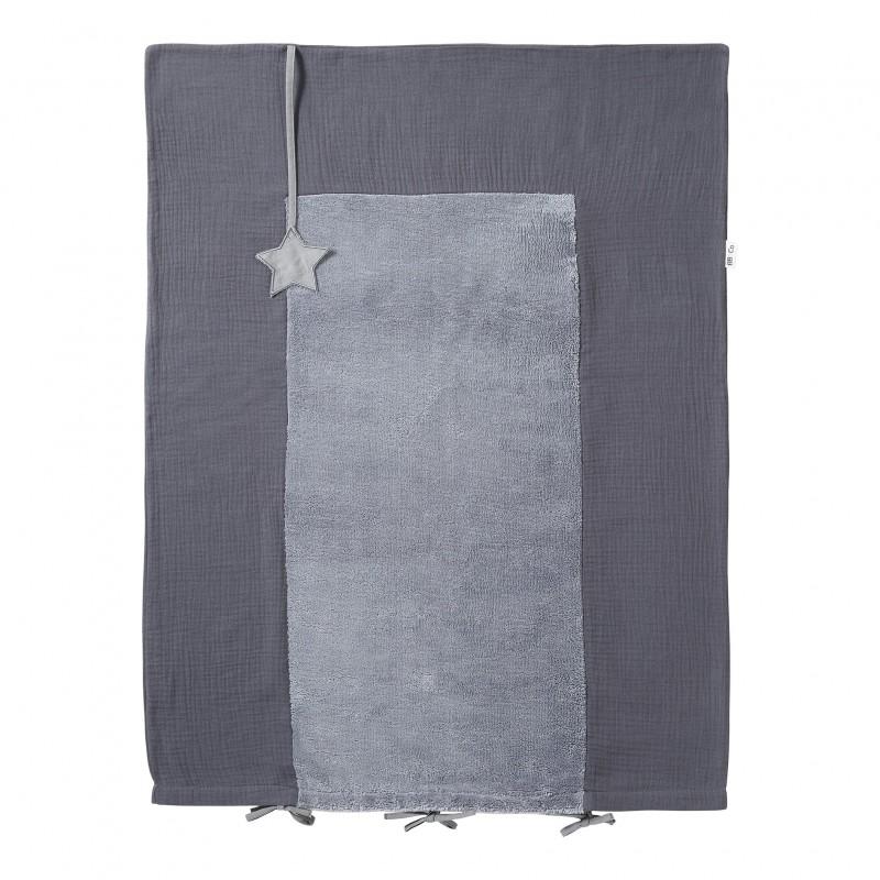 Housse de matelas à langer gris foncé Mix & Match - Housses de matelas à langer par BB&Co