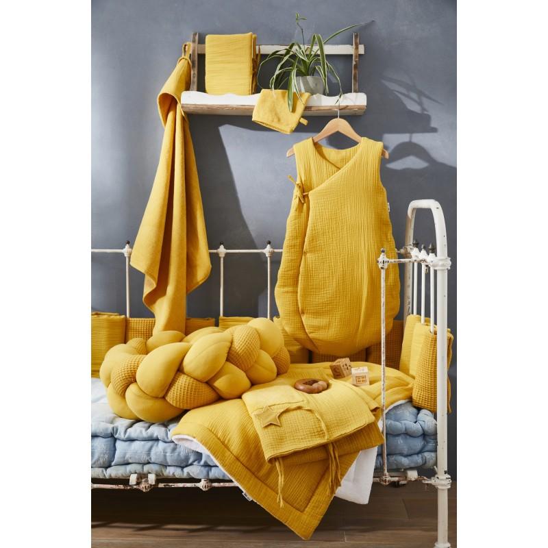 Housse de matelas à langer moutarde Mix & Match - Housses de matelas à langer par BB&Co