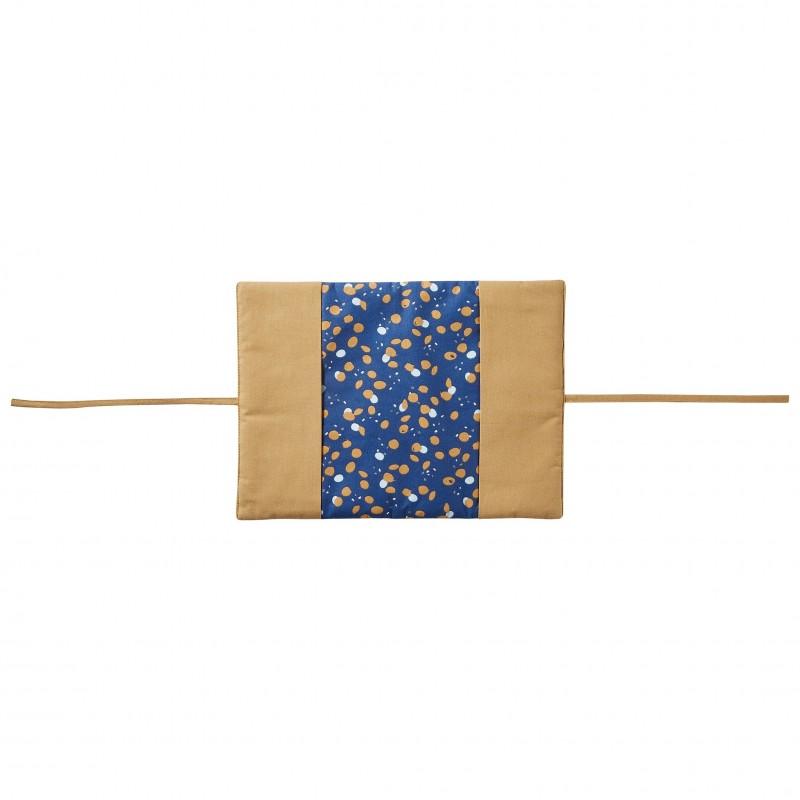 Protège-carnet de santé indigo/lagon/camel Stardust - Protège-carnet de santé par BB&Co