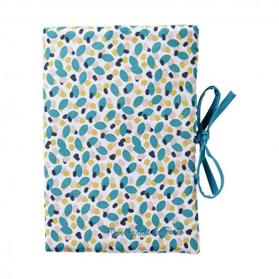 Protège-carnet de santé multicolore/émeraude Baby Pop - Protège-carnet de santé par BB&Co