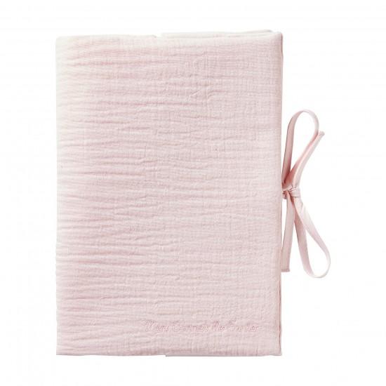 Protège carnet de santé rose blush Mix & Match - Protège-carnet de santé par BB&Co