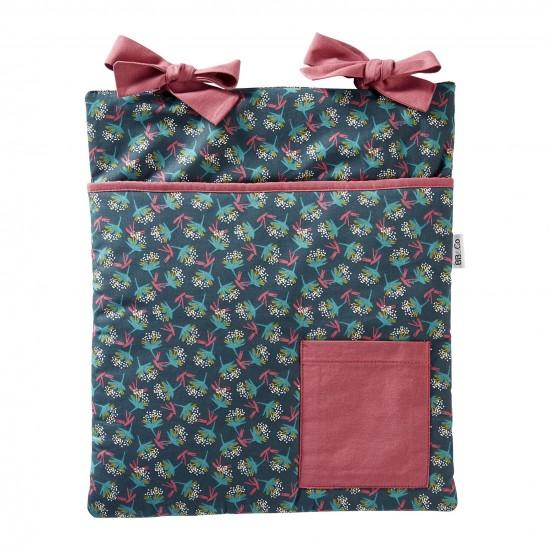Range-Pyjama & Doudous à accrocher imprimé fleurs Vintage Flowers - Range-Pyjamas par BB&Co