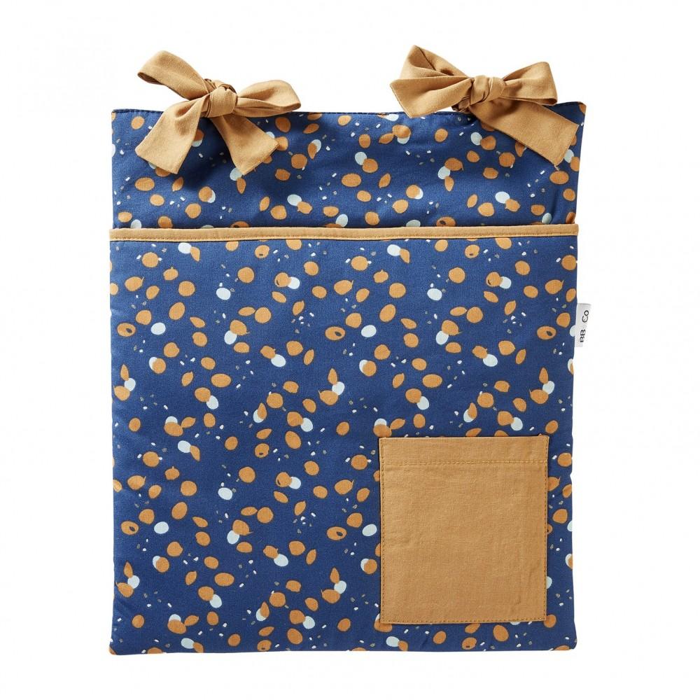 Range-Pyjama & Doudous à accrocher indigo/lagon/camel Stardust - Range-Pyjamas par BB&Co