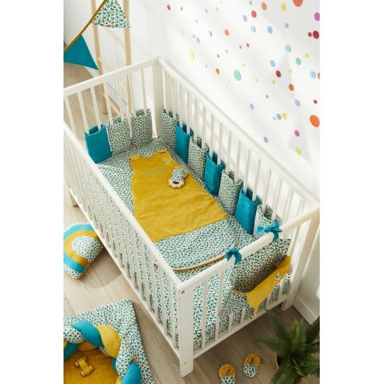 Range-Pyjama & Doudous à accrocher multicolore/émeraude Baby Pop - Range-Pyjamas par BB&Co