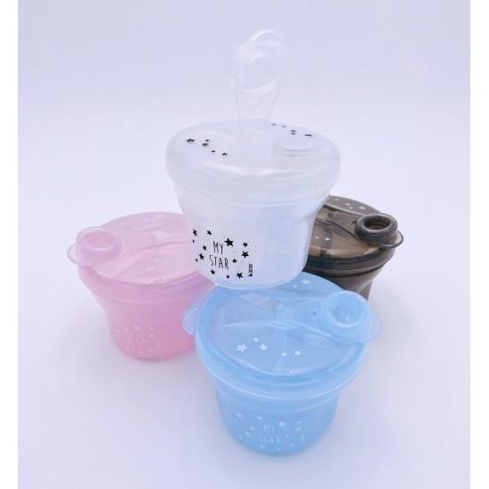 Boîte doseuse pour lait en poudre - bleu - Vaisselle pour bébé par Minene
