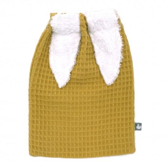 Sac à goûter en nid d'abeille moutarde - Sacs à goûter par BB&Co