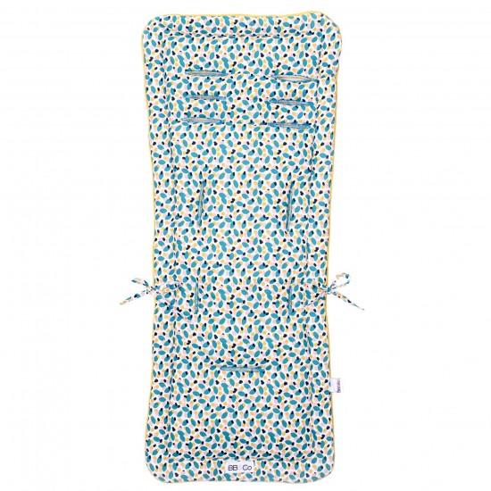 Assise poussette réversible été/hiver imprimé multicolore - Accessoires poussette par BB&Co