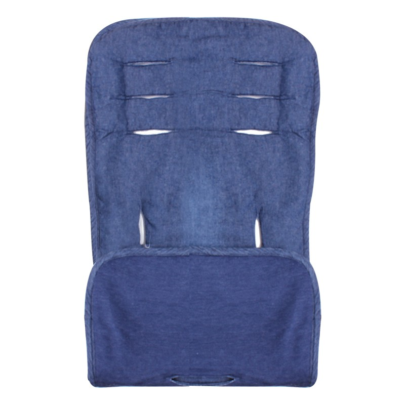 Assise de protection réversible poussette & siège auto - bleu denim - Accessoires poussette par Minene