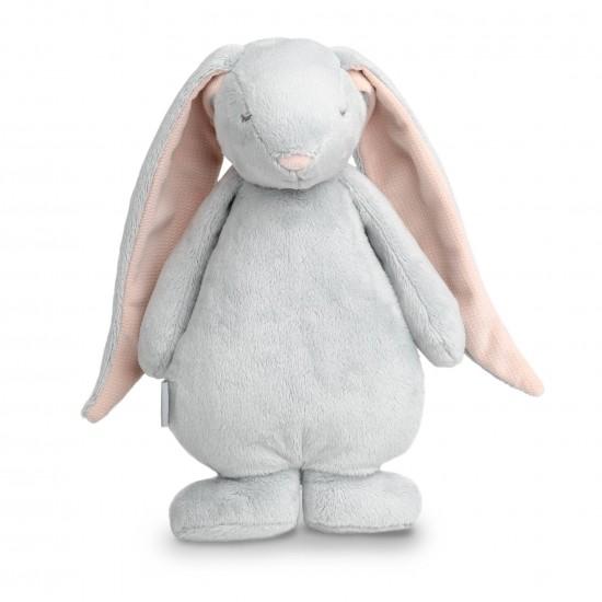 Moonie le lapin magique avec sons & lumières (gris/rose) - Eveil & Jeu par Moonie