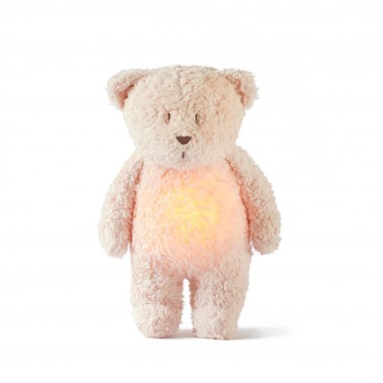 Moonie l'ourson magique avec sons & lumières - rose blush - Eveil & Jeu par Moonie