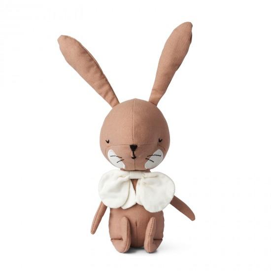 Lapin dans boîte cadeau - Rose - Accueil par Picca Loulou