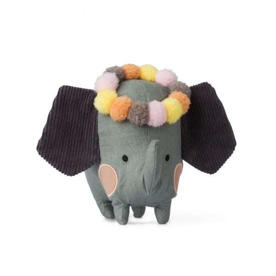 Eléphant dans boîte cadeau - Accueil par Picca Loulou