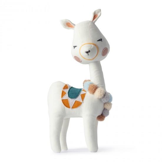 Lama dans boîte cadeau - Accueil par Picca Loulou