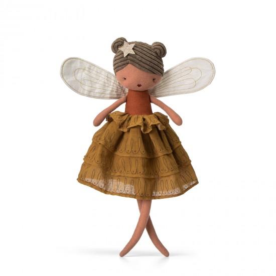 Fée Felicity avec robe camel - Accueil par Picca Loulou