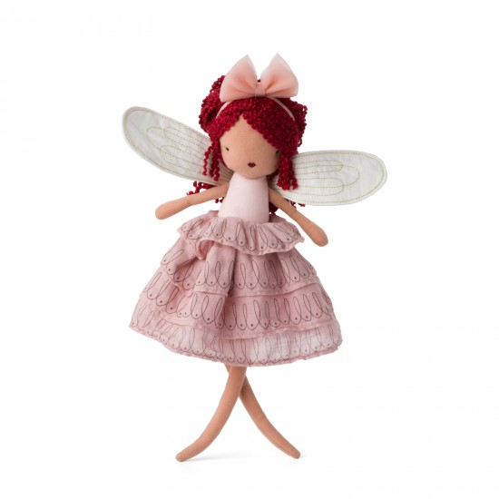 Fée Celeste avec robe rose - Accueil par Picca Loulou