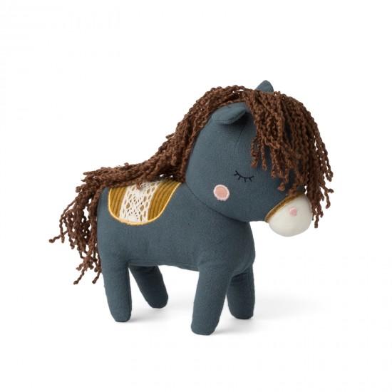Cheval dans boîte cadeau - Bleu - Accueil par Picca Loulou