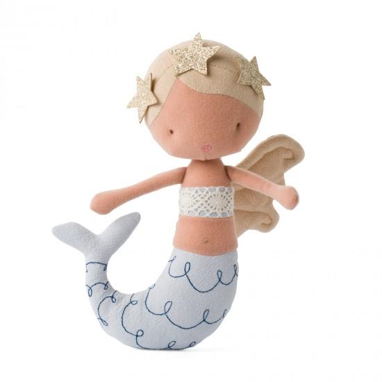 Sirène blonde Pearl - Accueil par Picca Loulou