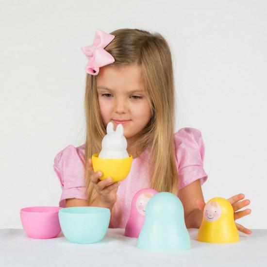 """Jouet à emboîter """"poupées russes"""" (multicolore) - Jouets par Rosa & Bo"""