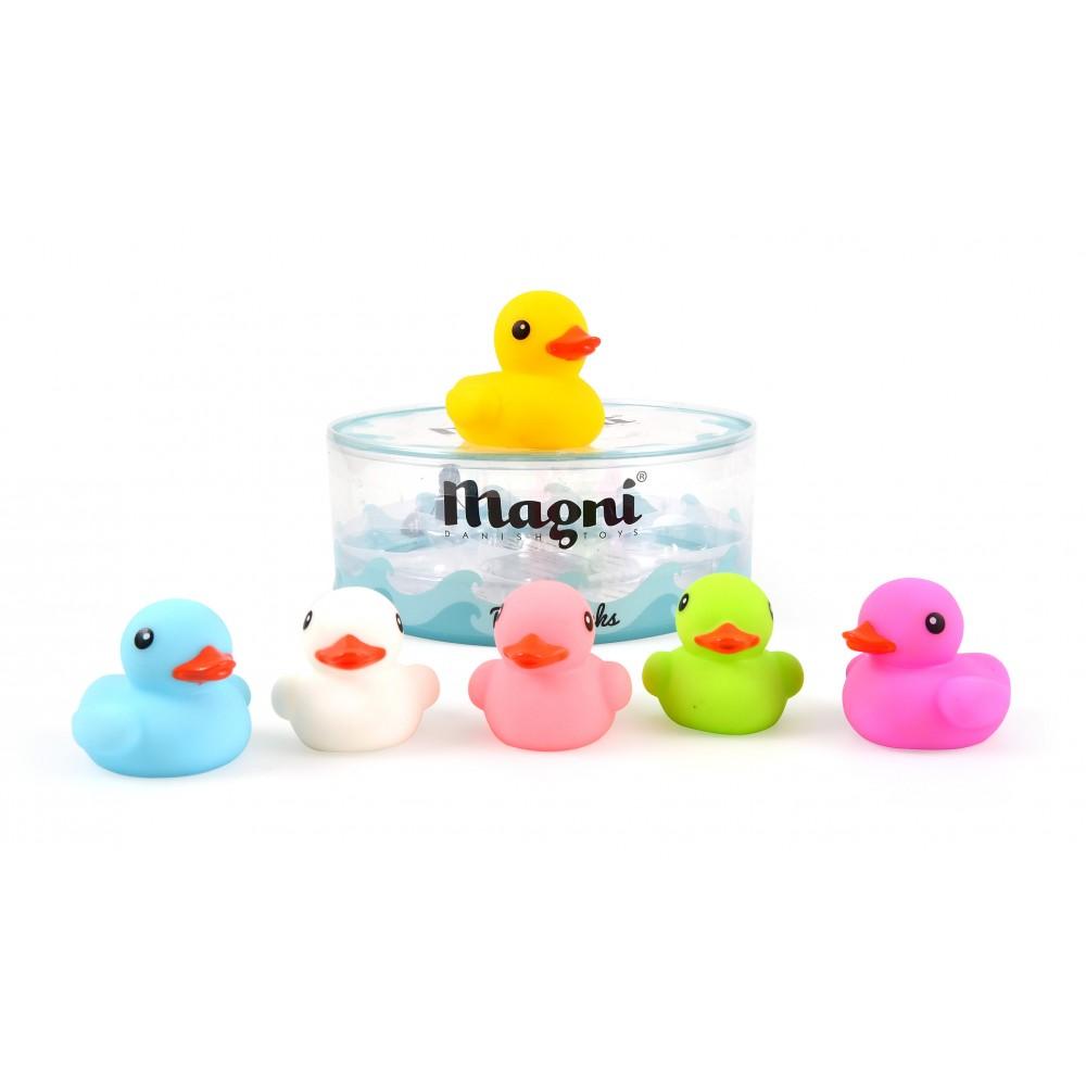 Boîte famille de canards de bain - Jouets par Magni