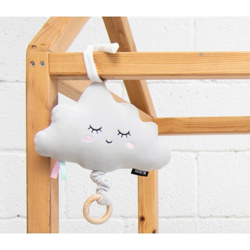Coussin musical - nuage blanc - Boîtes à Musique par Minene